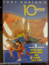 TONY HORTON  10 Minute Trainer 5  WORKOUTS DVD Worldwide Shipping