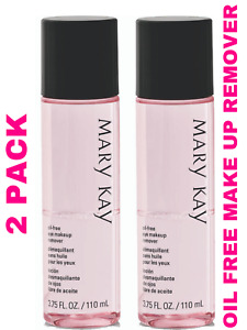 Mary Kay Oil Free Eye Makeup Remover 3.75 fl. oz 2 PACK FREE SHIPPING USA