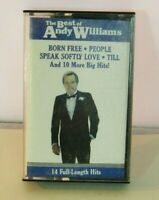 The Best of Andy Williams Music Cassette 14 Hits Born Free, People
