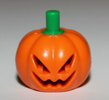 LeGo Minifig Pumpkin Jack O Lantern Head Cover Gear Scooby Doo Green Stem NEW