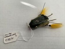 New listing Paw Paw Weedless Wow Vintage Wood Lure Bw 1940's Free Ship