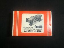 Wills Finecast Austin Ulster 1:43 Scale Model Kit