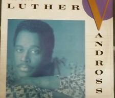 """LUTHER VANDROSS ANY LOVE VINYL 12"""" LP ALBUM RECORD"""