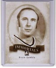 BRUCE GAMBLE 13/14 ITG Between the Pipes BTP Immortals #I-37 SP Insert Card