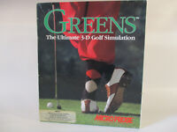 Commodore Amiga GREENS Computer Game by Microprose!!