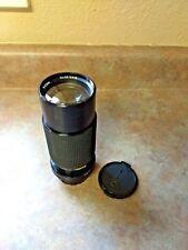 JC Penney Macro Lens Nikon n/ai-s mount 1:4.5 f=80-200mm 35mm