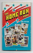 1985 Topps The Home Run Book Paperback Book Zander Hollander