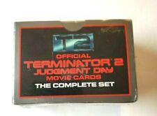 1991 Official Terminator 2 Judgment Day Movie Cards Factory Sealed Complete Set