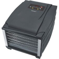 STEBA ed 6 GRIGIO-NERO dörrautomat timer 800 Watt potenza