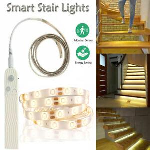 LED Stripe Leiste Streifen mit Bewegungsmelder SMD 2835 Band Lichterkette 1-5M