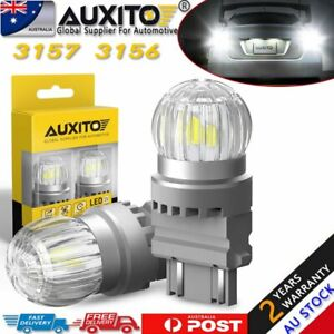 For Jeep Grand Cherokee 2012-2014 3157 White 6SMD LED Bright DRL Light Globes 2X