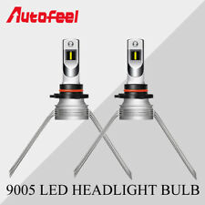 2PC 9005 HB3 H10 9145 LED Headlight High Beam Bulbs 60W 6000LM White Lamps 6500K