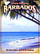 Barbados Lesser Antilles Caribbean Island Beach Travel Advertisement Art Poster