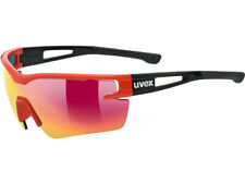 UVEX Sportstyle 116 Interchangeable Lens Glasses - Mirror Red, Orange & Clear