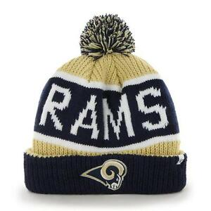 Los Angeles Rams 47 Brand Knit Hat Calgary Cuff Cap