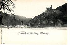 Wellmich AK um 1900 Thurnberg Rhein Burg Goarshausen Rheinland-Pfalz 1503649