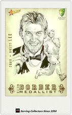 2008-09 Select Cricket Alan Border Medalist Sketch Card BMS7 Brett Lee