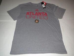 Atlanta United MLS Soccer Adidas T-Shirt Gray Men's XL NEW with TAGS