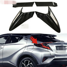 Carbon Fiber Rear Taillight Cover Frame For Toyota CHR Accessories 2017 2018