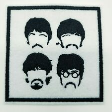 """THE BEATLES Embroidered Iron On Patch 3 """" X 3 """" MUSIC ROCK BAND"""
