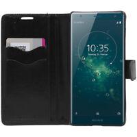 ebestStar Etui Portefeuille Sony Xperia XZ XZ1 XZ2 Compact/Premium VERRE Trempé