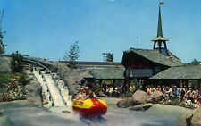 Disneyland Bobsled Vintage Postcard Disney