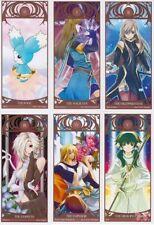 Tales of the Abyss Tarot Card Set 22 Major Arcana Luke Tear Asch Guy Sync Ion Ja