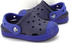 Crocs Kids Bump It Blue Croslite Clogs Infant / Toddler US Shoe Size 6