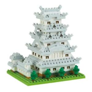 Nanoblock HEMIJI CASTLE, Place to See Series, NBH-197, 490 Pieces, Level 3, NEW