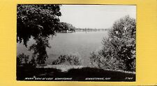 RPPC Scenic View of Lake Winneconne, Winnebago County,WI Wisconsin