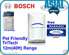 Bosch Alarm Pet Friendly TriTech PIR Sensor Motion Detector ISC-BDL2-WP12G
