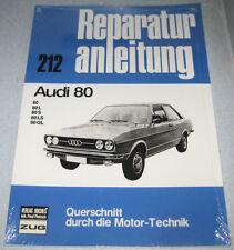 Reparaturanleitung Audi 80 B1, Baujahre 1972 - 1978