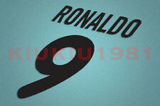 Inter Milan Ronaldo #9 2000-2001 Awaykit Nameset Printing