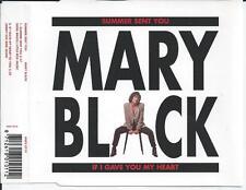MARY BLACK - Summer sent you PROMO CD SINGLE 2TR BENELUX Print 1993