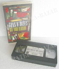 GUNS N' ROSES Use Your Illusion I World Tour 1992 - VHS Geffen HV– GEFV 39521