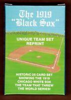 1919 Chicago Black Sox factory set of 26 cards w/ color Shoeless Joe Jackson