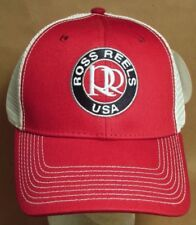 Ross Reels Trucker Hat Cap Fly Fishing Colorado USA Embroidery New  # orb