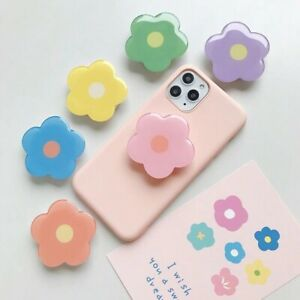 universal mobile phone holder Cute flower stand fold finger grip ring expended