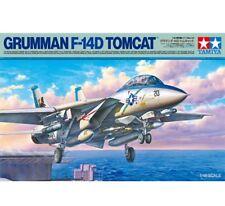 Tamiya 61118 Grumman F-F-14d Tomcat Avión Maqueta de Plástico en Kit Updated