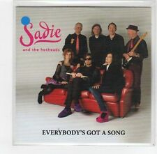 (FE67) Sadie & The Hotheads, Everybody's Got A Song - 2014 DJ CD