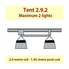 JUPITER II LIGHT MOVER TENT 2.9.2 - FOR 2 LIGHTS TO SUIT 3M X 1.5M X 2M TENT