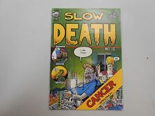 Slow Death #10! (1979, Last Gasp) FN/VF7.0 or better! RARE 1st print underground