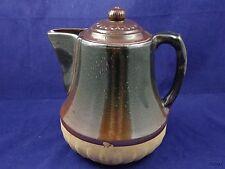 Big Stoneware Crock Style Pitcher Coffee Pot