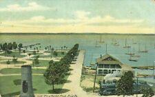Erie Pennsylvania Water Works Park and Erie Yacht Club 1907 Postcard
