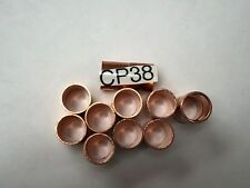 "COPPER COUPLING 3/8"" INDUSTRY OD SIZE 10 PC"