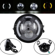 """7"""" Angle Eye LED Daymaker Headlight for Harley Road King Electra Street Glide"""