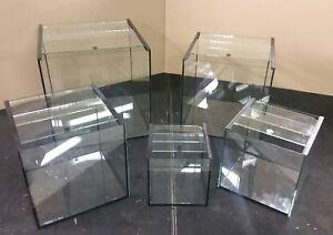 Würfelbecken, Aquarium, quadratisch, Cube, Nano, Terrarium inkl. Abdeckung