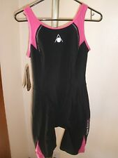 nwt Aqua Sphere Powered Energize Ladies Triathlon Tri-Suit Sz 34/8