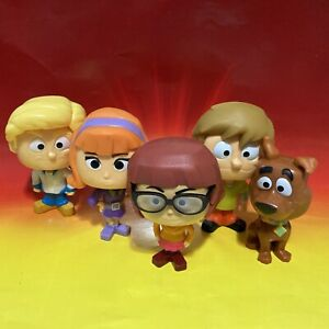 McDonald's 2021 Scooby-Doo Bobbleheads Complete Set