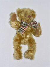 💥🍃 Teddy Bär Teddybär Bärchen Bear Stofftier Sunkid mit Schleife 26 cm in NEU